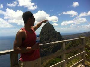Pitons in St Lucia