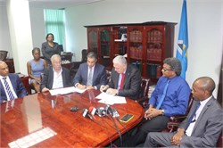 Black Bay Master Development : Luxury hotel developer signs agreement with Government