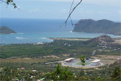 Lot with Jet Liner views for sale at Cacoa Vieux-Fort Saint Lucia