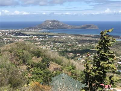 Laborie, St Lucia Morne LeBlanc Land For Sale 22,375 Sq Ft.