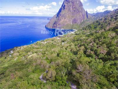 27 Acres Beach Front Land for Sale in Saint Lucia