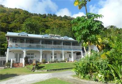 La Haut Hotel & Plantation for Sale in St Lucia