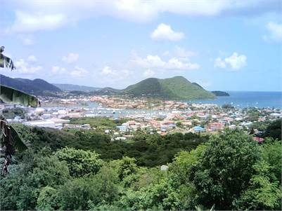 Land with Marina Views for Sale at Radney Bay St. Lucia