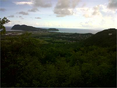34000 sq ft of land for sale at Morne Beausejour Vieux Fort