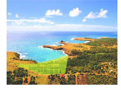 7 Acres of Prime Beach Front Land for Sale on South East Coast St Lucia
