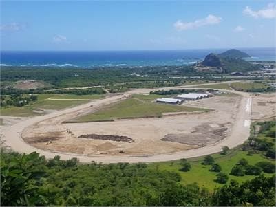 Small Property For Sale Near Horse Racing Track In Vieux-Fort ST Lucia