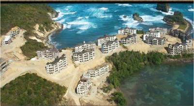 Le Paradis Hotel development in St Lucia for Sale