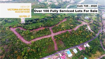 Over 100 Land / Lots For Sale at Troumassee Micoud St Lucia