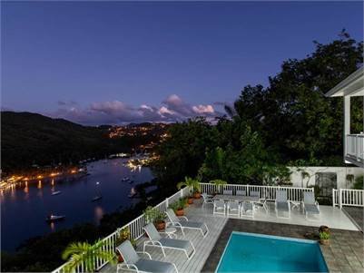 Marigot Bay Villa for Sale - Villa on the Bay
