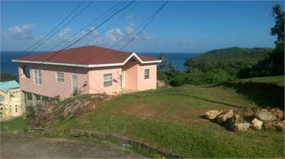 House for Sale in St. Lucia with Amazing Sea Views