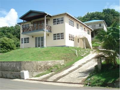Two Storey House for Sale at Beau-se-Jour Gros-Islet
