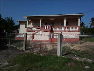 Two Bedroom Bungalow Style house for Sale at Blackbay Vieux Fort
