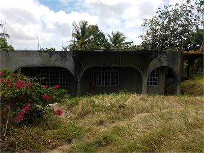 Incomplete House / Fixer Upper For Sale on 8,746 sq. ft. Land